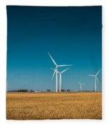 Fields Of Energy Fleece Blanket