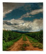 Fields Of Summer Fleece Blanket