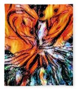 Fiery Crystal Fleece Blanket