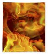 Fiery Mist Fleece Blanket
