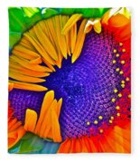 Fiesta Fleece Blanket