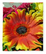 Floral Fiesta Fleece Blanket