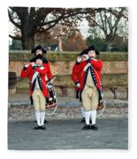 Fifes And Drums Fleece Blanket