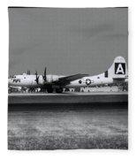 Fifi B-29 Fleece Blanket