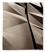 Fifth Avenue Details Sepia Fleece Blanket