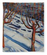Fifth Floor Shadows Fleece Blanket