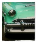 Fifties Ride Fleece Blanket
