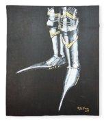 Fighting Boots Fleece Blanket