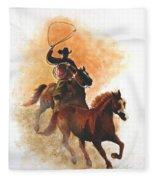 Fighting For Freedom Fleece Blanket