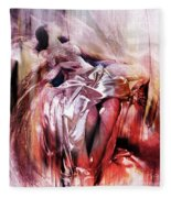 Figurative Art 004-b Fleece Blanket