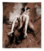Figurative Art 007b Fleece Blanket