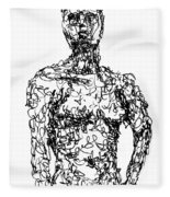Figure Fleece Blanket