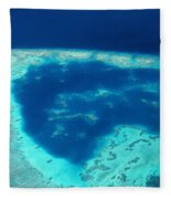 Fiji Aerial Fleece Blanket