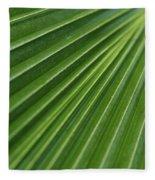 Fiji Fan Palm Fleece Blanket