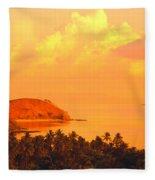 Fiji Mana Island Fleece Blanket