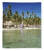 Fiji Resort Fleece Blanket
