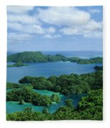 Fiji Vanua Balavu Fleece Blanket