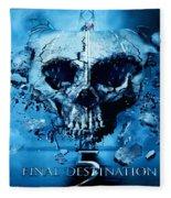 Final Destination-an American Horror Franchise  Fleece Blanket