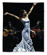 Finale Del Funcionamiento Del Flamenco Fleece Blanket