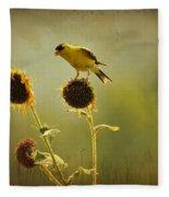 Finch 1 Fleece Blanket
