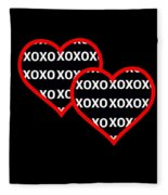 Finding Love After Darkness Fleece Blanket