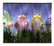 Finding Nemo Figurine Characters Fleece Blanket