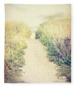 Finding Your Way Fleece Blanket