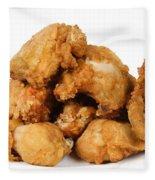 Fine Art Fried Chicken Food Photography Fleece Blanket
