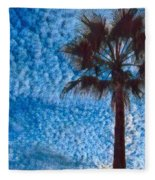 Fine Day In Spain  Fleece Blanket by Colette V Hera Guggenheim