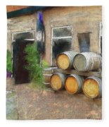 Fine Wine Fleece Blanket