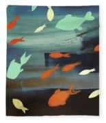 Finestra Di Pesci Fleece Blanket