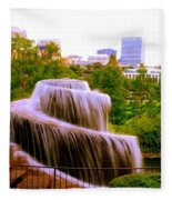 Finlay Park Fountain Summertime Fleece Blanket