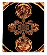 Fire Design Fleece Blanket