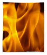 Fire Desires Art Fiery Hot New York Autumn Warmth Baslee Troutman Fleece Blanket