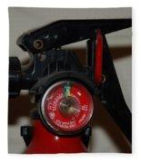Fire Extinguisher Fleece Blanket