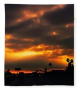 Fire From The North Fleece Blanket