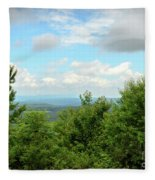 Fire Tower View - Pipestem State Park Fleece Blanket