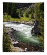 Firehole Canyon 2 Fleece Blanket