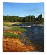 Firehole River Colors Fleece Blanket