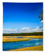 Firehole River Fleece Blanket