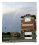 Firehouse Ranibow Fleece Blanket