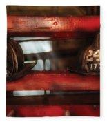 Fireman - A Salute To The Firefighter Fleece Blanket