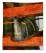 Fireman - Chief Hat Fleece Blanket