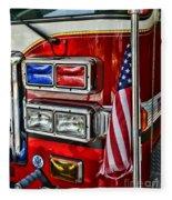 Fireman - Fire Truck Fleece Blanket