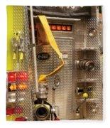 Fireman - Station - 36-3 Fleece Blanket