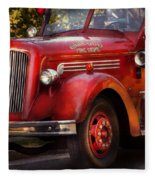 Fireman - The Garwood Fire Dept Fleece Blanket