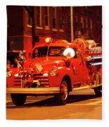 Fireman's Parade No. 3 Fleece Blanket