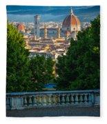 Firenze Vista Fleece Blanket