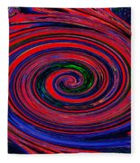Fires Of Evil Wants Mother Earth Fleece Blanket