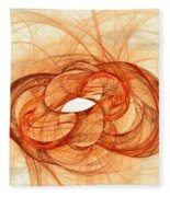 Fires Of Fusion Fleece Blanket